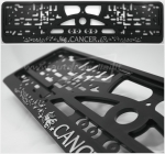 "40311 License plate frame R-3 the zodiac sign ""Cancer"""