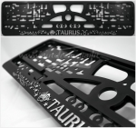 "40301 License plate frame R-3 the zodiac sign ""Taurus"""