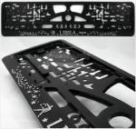 "40361 License plate frame R-3 the zodiac sign ""Libra"""
