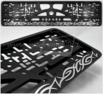 "50651 License plate frame R-3 ""Flames"""