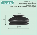 PL-2808 Protective rubber