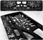 "40381 License plate frame R-3 the zodiac sign ""Virgo"""